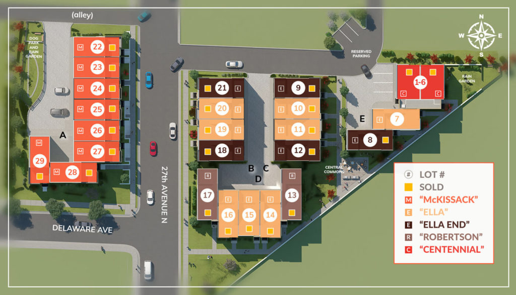 This is the AXIS27 Site Plan. Find your place here.